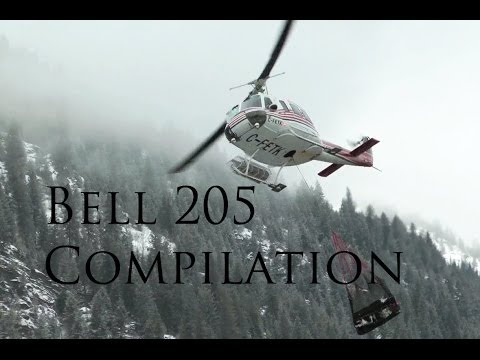 Bell 205 Helicopter Compilation