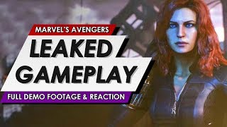 Marvel's Avengers Full Leaked Gameplay Demo Footage & Reaction | SDCC 2019
