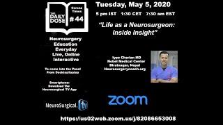 Life as A Neurosurgeon: Inside Insight