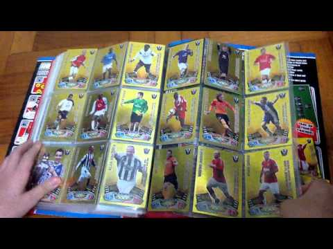 Match Attax 11 12 Binder Completed! All Cards! Golden Moments, MOTM, 100 Club