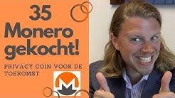 35 MONERO gekocht! Waarom? Wat is Monero? Kan Monero naar $1000? #Monero #investeren #crypto #XMR