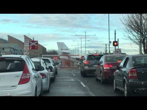 Essendon Airport Aircraft Crossing