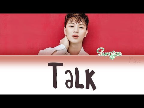 YOOK SUNGJAE (육성재) (BTOB) - 말해 (TALK) Lyrics (ENG/ROM/HAN)