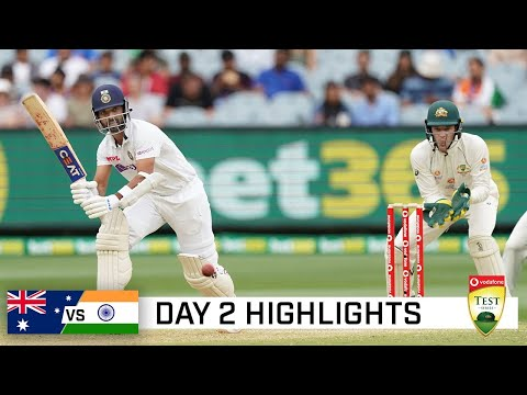 Rahane's unbeaten ton puts India on top | Vodafone Test Series 2020-21