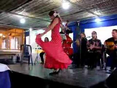 Hot Flamenco Dance