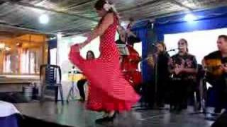 hot flamenco dance