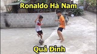 Quang Hải nhí Messi Hà Tĩnh đã có đối - Xuất hiện Ronaldo Hà Nam với kỹ thuật bóng đá cực đỉnh PVF
