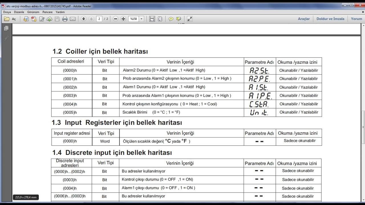 TIA Portal S71200 PLC 56)MODBUS RS485 Haberleşme ile ENDA sıcaklık  cihazından veri okuma uygulaması