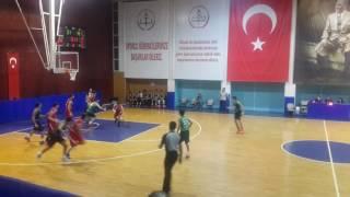 ODTÜ - ASEM U18 ERKEK BASKETBOL MACI 29 KASIM 2016 2.KISIM
