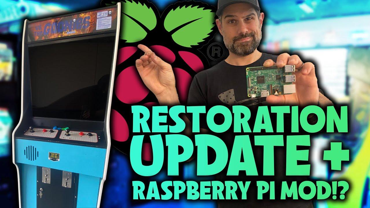 Nintendo Cabinet Restoration + RaspberryPi / RetroPie MOD!