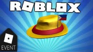 [FREE ITEM] How to getInternational Fedora - Philippines| Roblox