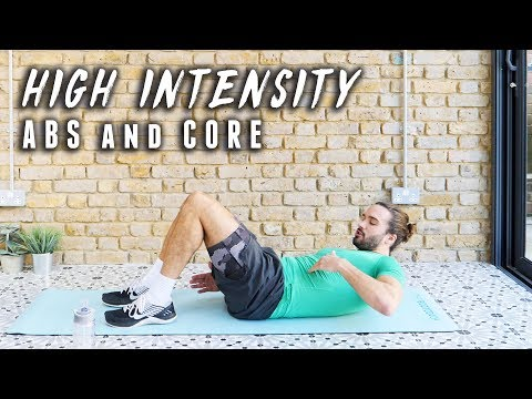 12 Minute Intense Cardio, Abs & Core Workout | The Body Coach
