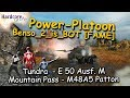 WOT: Power platooning, Benso_2_is_BOT [FAME], E 50 M, M48 Patton, WORLD OF TANKS