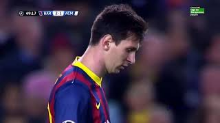 Lionel Messi ● 10 Moments Football in impossible goals