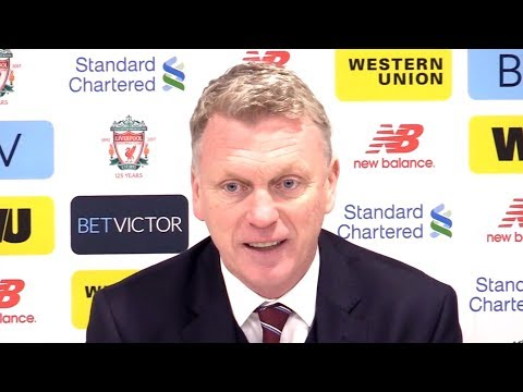Liverpool 4 -1 West Ham - David Moyes Full Post Match Press Conference - Premier League