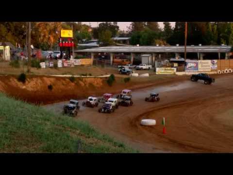 17N Dwarf Car B Main Placerville Speedway 6-11-16