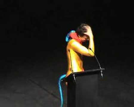 Performance de Foofwa au Prix suisse de la danse 2006