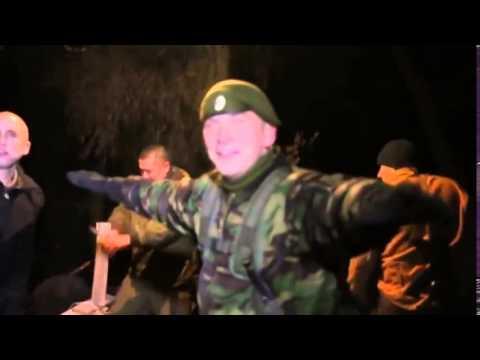 АТО с  Пески бойцы  Новоросси  пляшут в перемирие Донецк Луганск днр лнр аэропорт моторола гиви