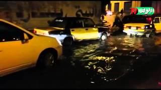 بالفيديو.. أنفاق الإسكندرية تغرق في مياه الأمطار