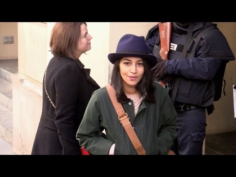 EXCLUSIVE: Leila Bekhti and Reda Kateb promotion at RTL radio station in Paris