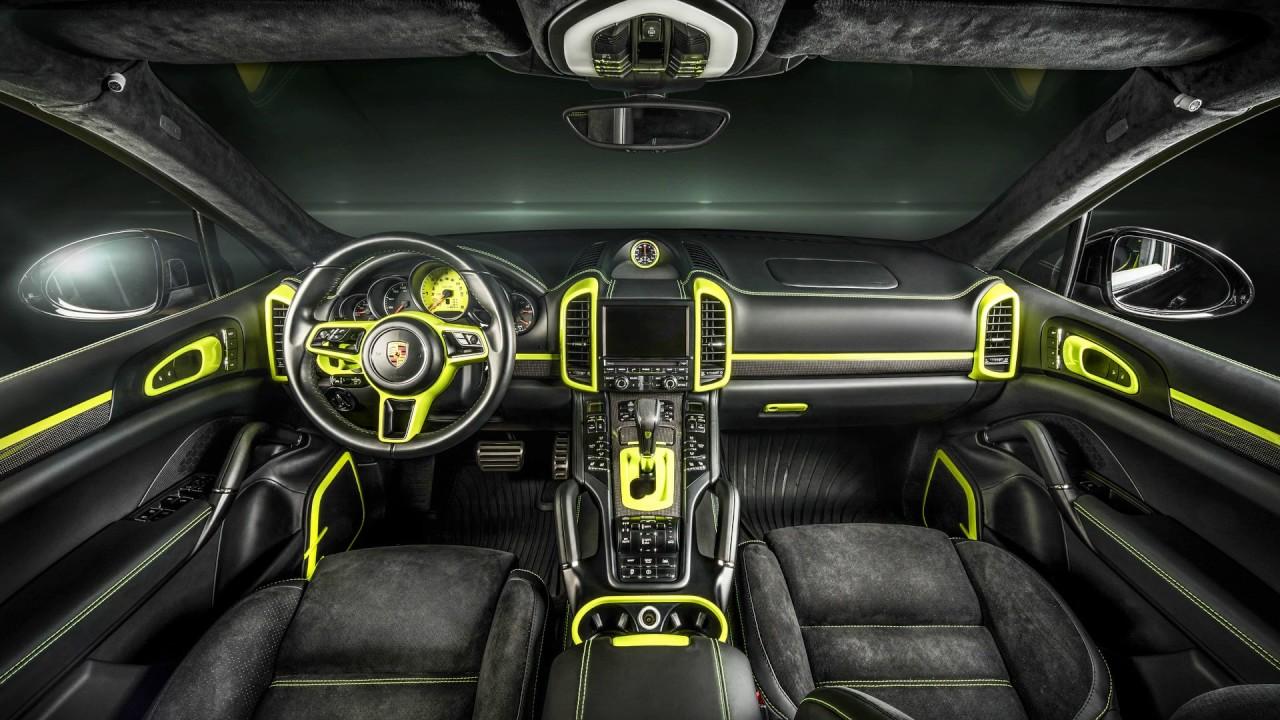 Porsche Cayenne 2017 Interior