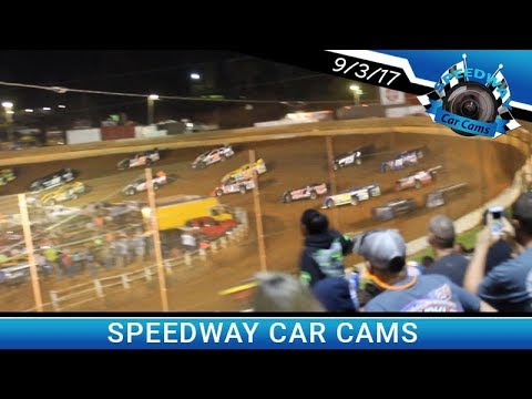 Super Late Model Feature from 9-3-17 at Tazewell Speedway
