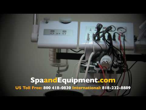 14 Function Facial Machine Units With Diamond Microdermabrasion