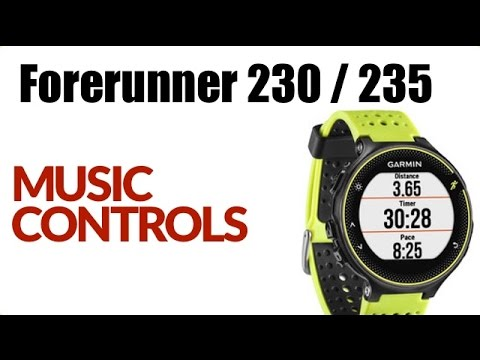 How To Use The Music Controls On The Garmin Forerunner 230 / 235 ! FEATURE REVIEW !