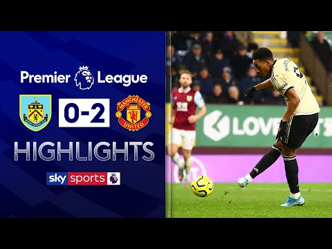 Martial & Rashford goals put Man Utd into Top 5! | Burnley 0-2 Man Utd | EPL Highlights