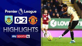 Martial & Rashford goals put Man Utd into Top 5! | Burnley 0-2 Man Utd | EPL Highlights