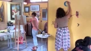 Art Studio Mandala Wall