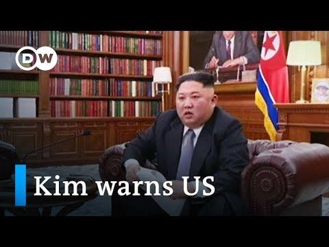 North Korea's Kim Jong-un warns US in New Year's address | DW News Mp3