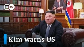 North Korea's Kim Jong-un warns US in New Year's address | DW News