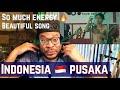 FIRST TIME HEARING - Fourtwnty - Indonesia Pusaka ~ Hitam Putih REACTION