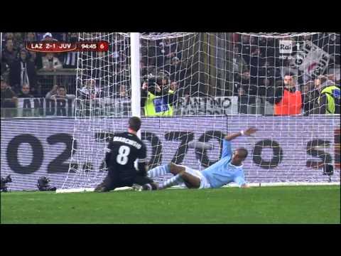 Lazio Juventus 2-1 coppa italia 2013 - i minuti di recupero