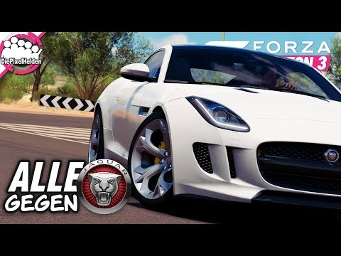 FORZA HORIZON 3 - Alle gegen JAGUAR - MULTIPLAYER - Let's Play Forza Horizon 3