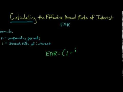 how-to-calculate-the-effective-annual-rate-of-interest-(ear)