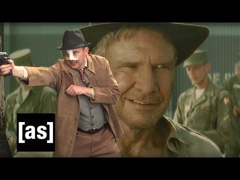 Mark's Indiana Jones | On Cinema 4th Annual LIVE Oscar Special | Adult Swim