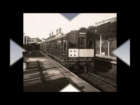 Newcastle and Tyneside Railways from the 1950s to the 1980s.