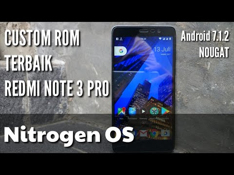 [UPDATE]REVIEW Nitrogen OS Android 7.1.2 + FULL GAPPS KEREN BUANGEET...