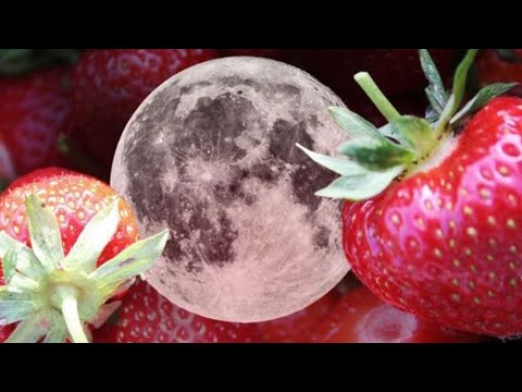 Monday's Strawberry Full Moon Is Bringing Good Vibes Only