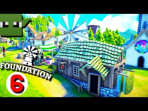 Foundation - Medieval City Building Game #6 WINDMILL