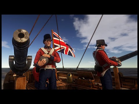 NAPOLEONIC COASTAL FORT SIEGE! British Marines & Gunboats Assault Fort - Holdfast: Nations at War
