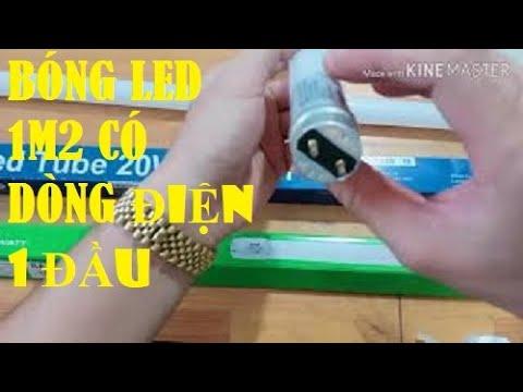 Cách phân biệt bóng đèn Led 1m2 có dòng điện vào một và hai đầu như thế nào | Đèn Led MPE TV