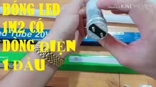 Cách phân biệt bóng đèn Led 1m2 có dòng điện vào một và hai đầu như thế nào