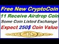 Update Receive 11 Airdrop Coins,Some Listed Exchange,Free Token airdrop bitcoin earn with bestadvice