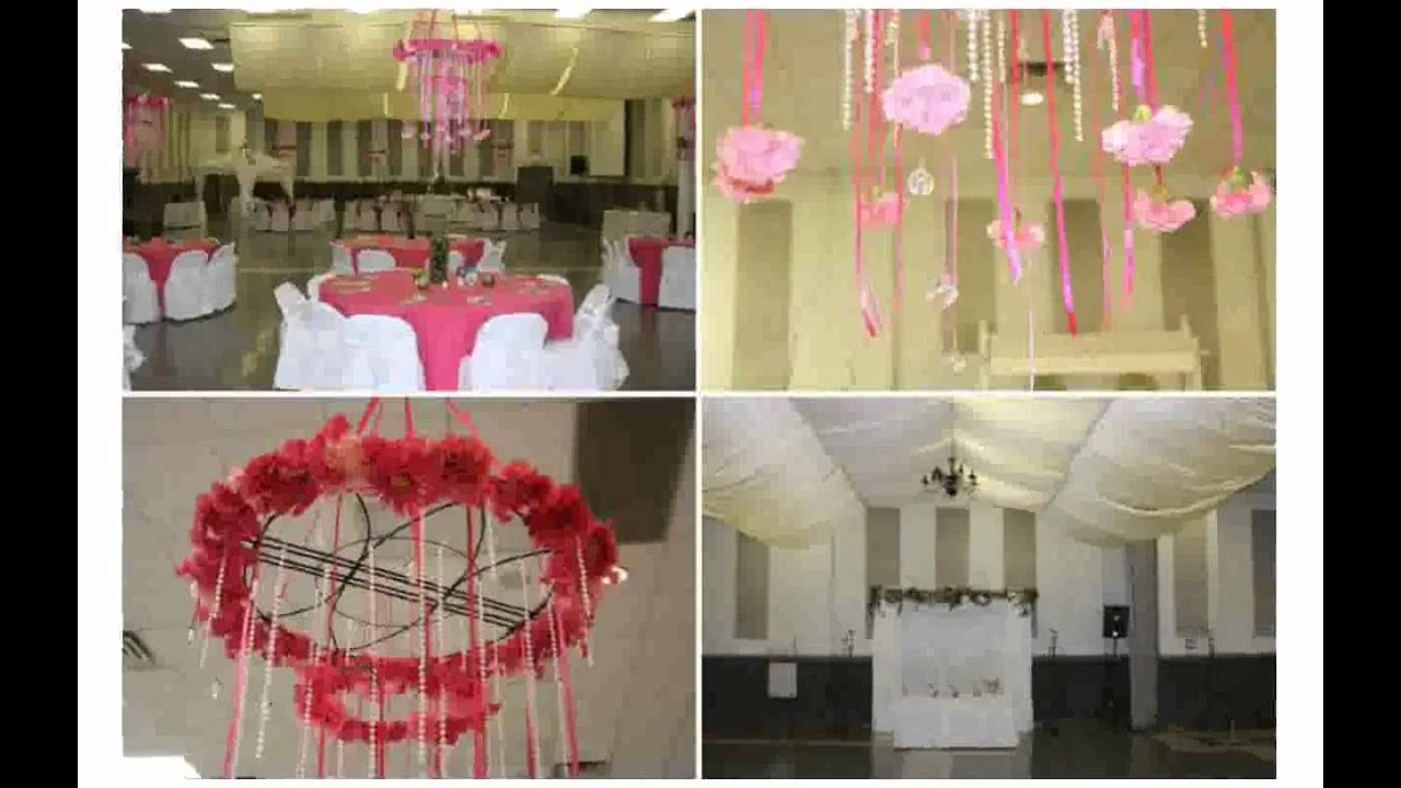 Ceiling decorations for weddings youtube ceiling decorations for weddings solutioingenieria Choice Image