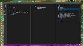 Microsoft Visual Studio Code on Ubuntu linux