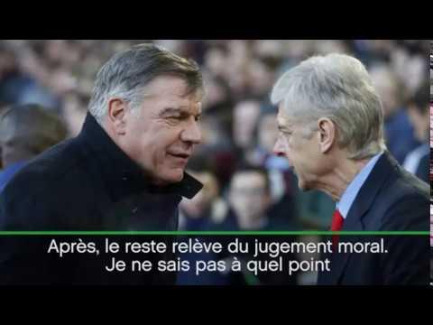 Wenger «Pas surpris par le retour d'Allardyce» !