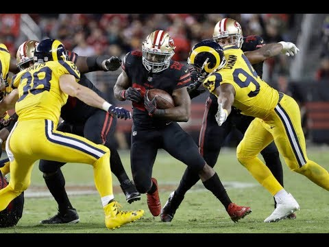 Carlos Hyde vs Rams (TNF Week 3) - 84 Yards + 2 TDs! Heart! | 2017-18 NFL Highlights HD
